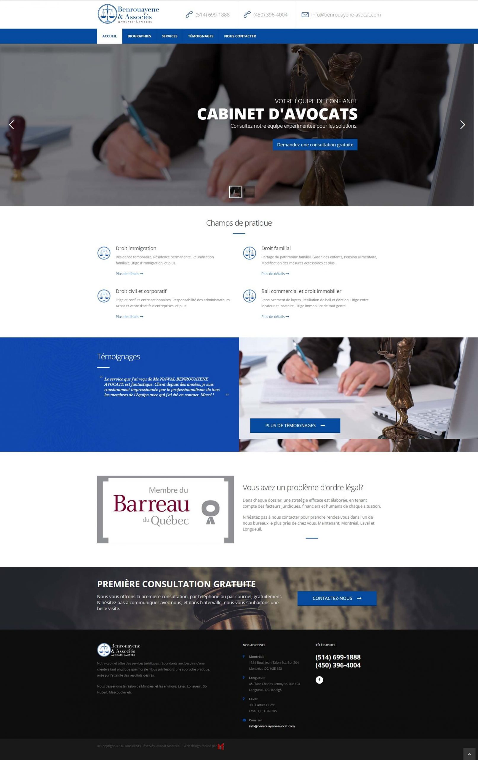 lawyer firm montreal website design scaled