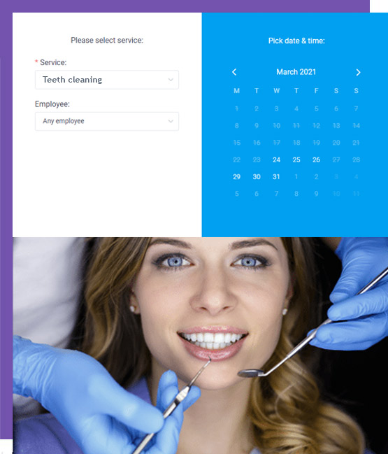 dental aapointement booking system